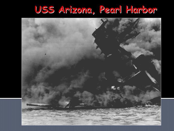 USS Arizona, Pearl Harbor