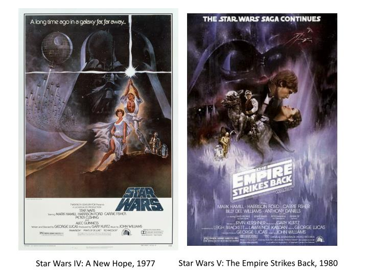 Star Wars V: The Empire Strikes Back, 1980