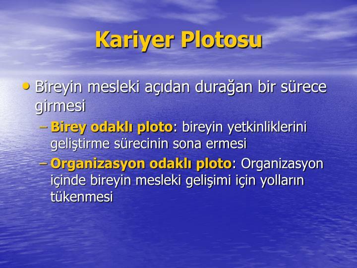 Kariyer Plotosu