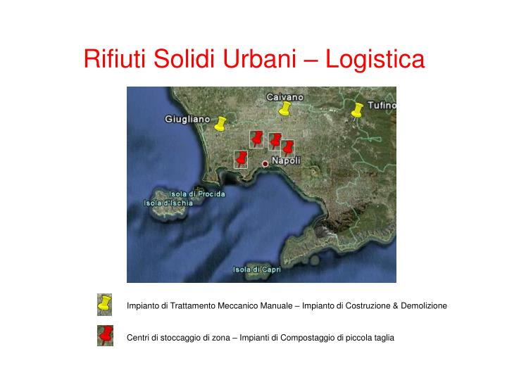 Rifiuti Solidi Urbani – Logistica