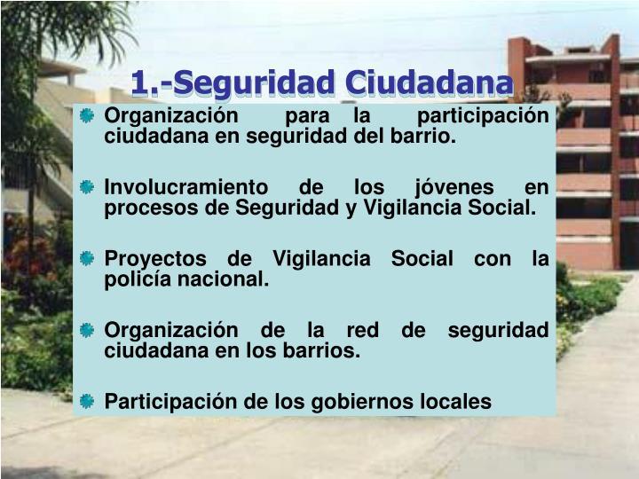 1.-Seguridad Ciudadana