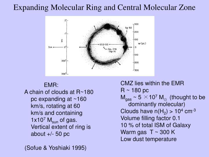 Expanding Molecular Ring and Central Molecular Zone