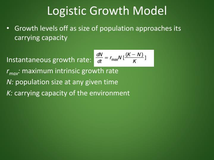 Logistic Growth Model