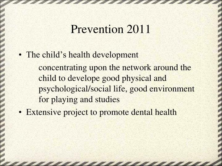 Prevention 2011