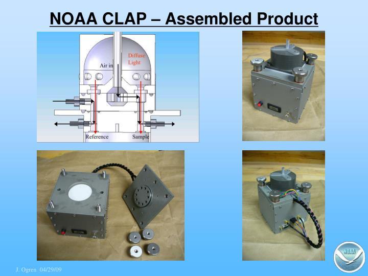 NOAA CLAP – Assembled Product