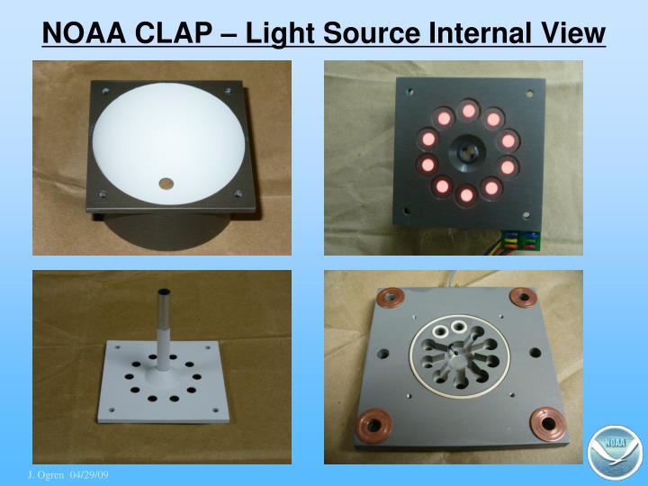 NOAA CLAP – Light Source Internal View