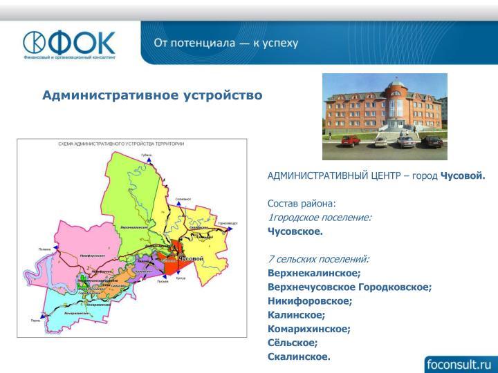 Административное устройство