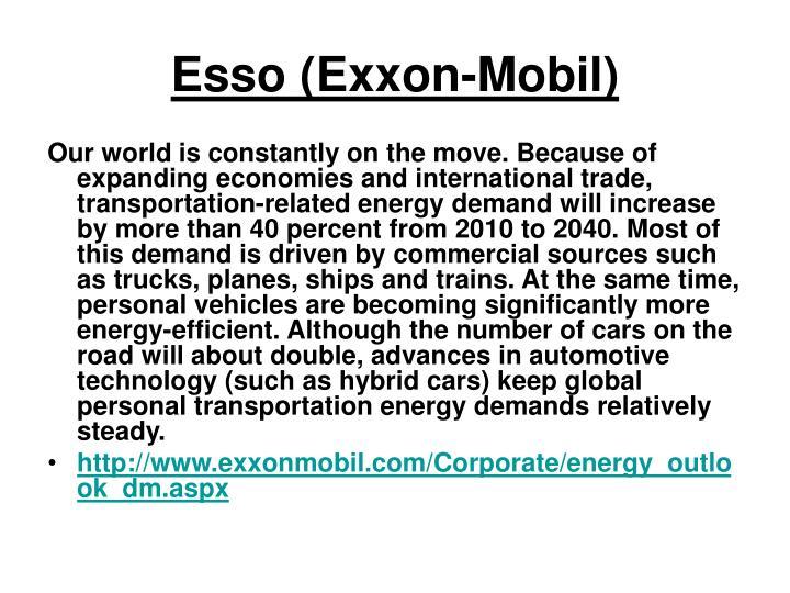 Esso (Exxon-Mobil)