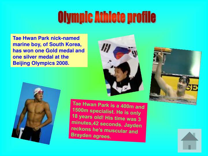 Olympic Athlete profile