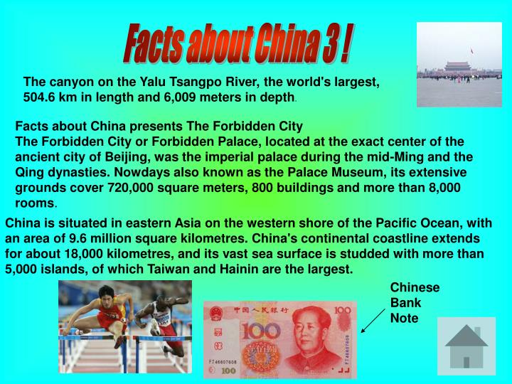 Facts about China 3 !