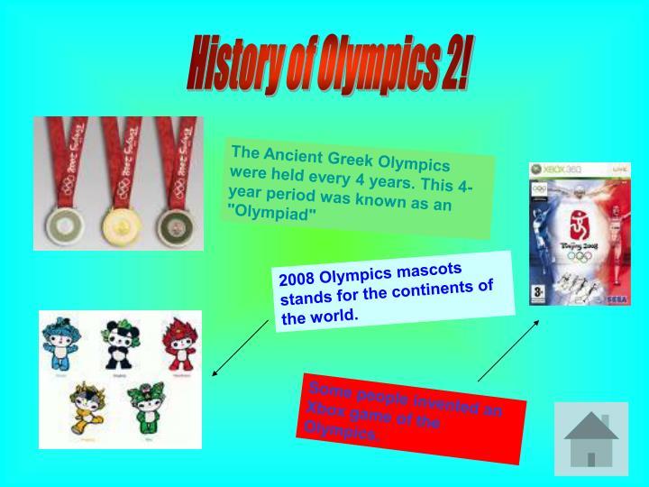 History of Olympics 2!
