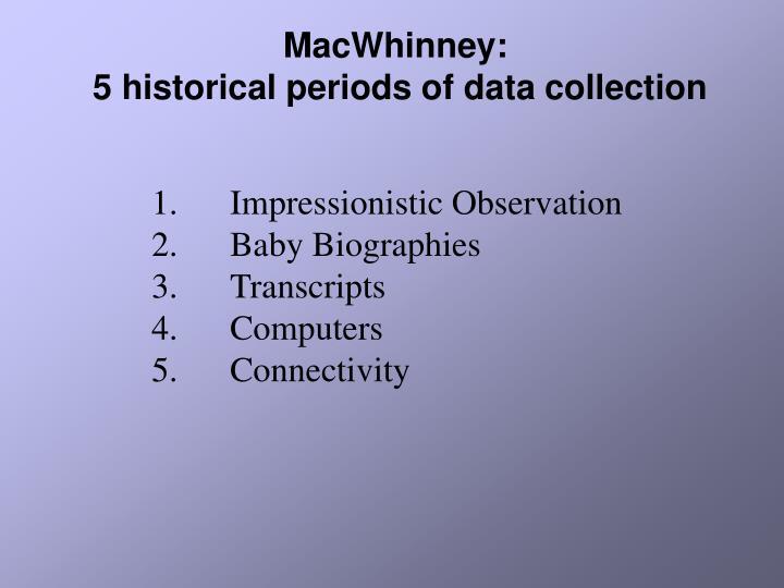 MacWhinney: