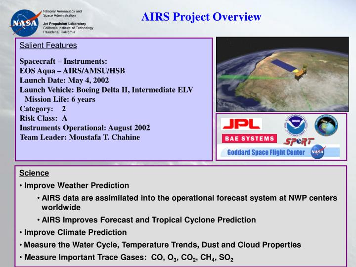 AIRS Project Overview