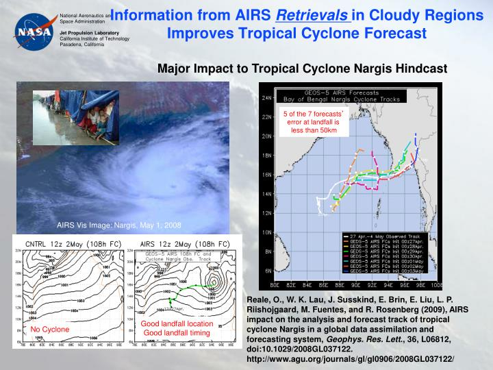 Information from AIRS