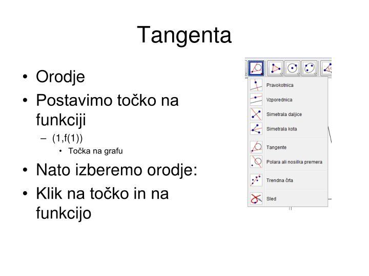 Tangenta