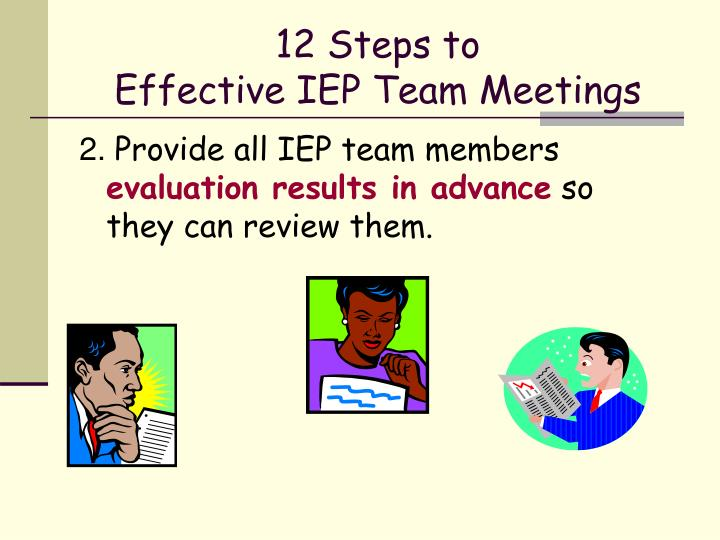12 steps to effective iep team meetings1