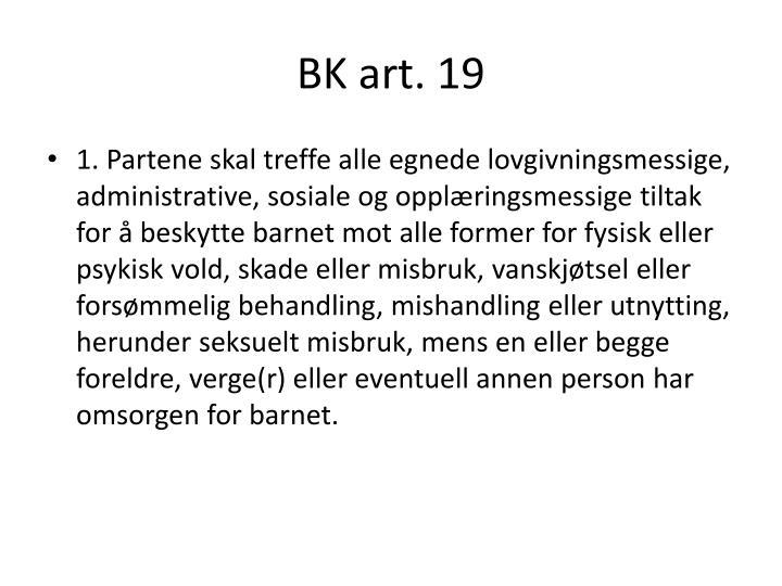 BK art. 19