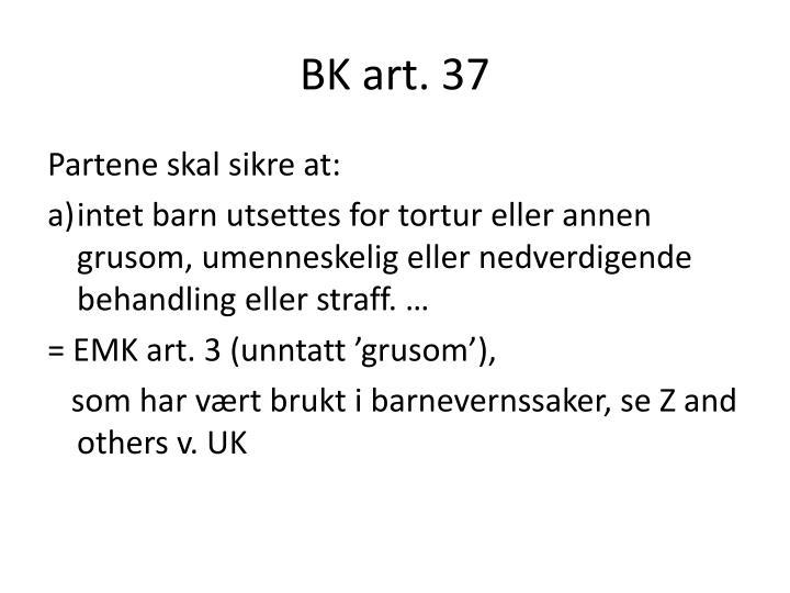BK art. 37