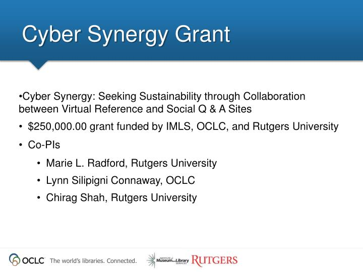 Cyber Synergy Grant