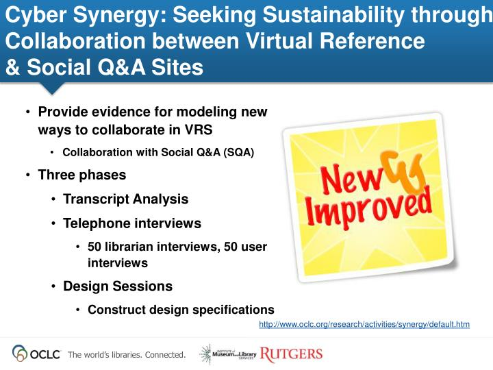 Cyber Synergy: Seeking Sustainability through