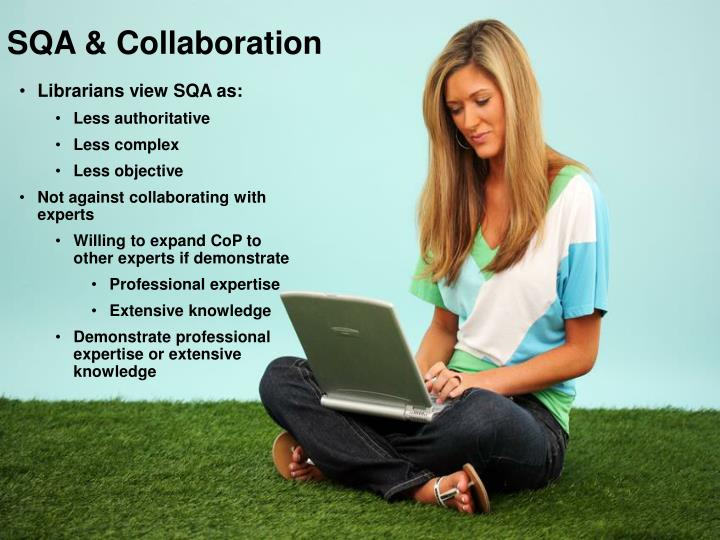 SQA & Collaboration
