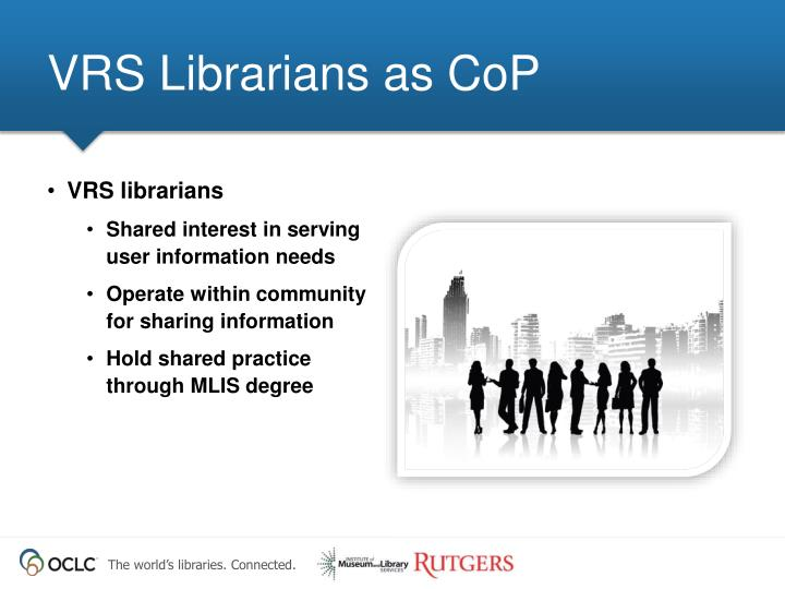 VRS Librarians as