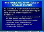 importance and advantages of database systems1