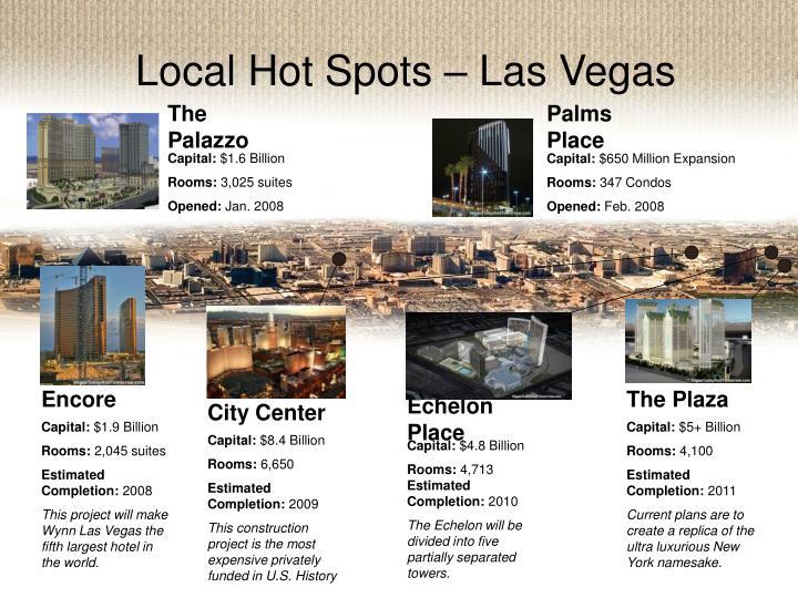 Local Hot Spots – Las Vegas