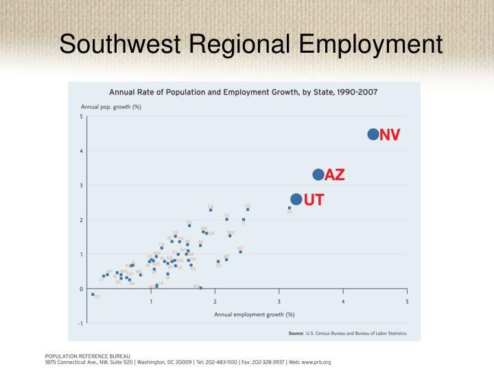 Southwest Regional Employment