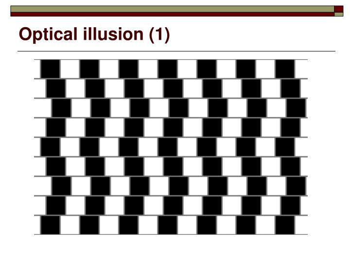 Optical illusion (1)