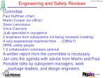 engineering and safety reviews2