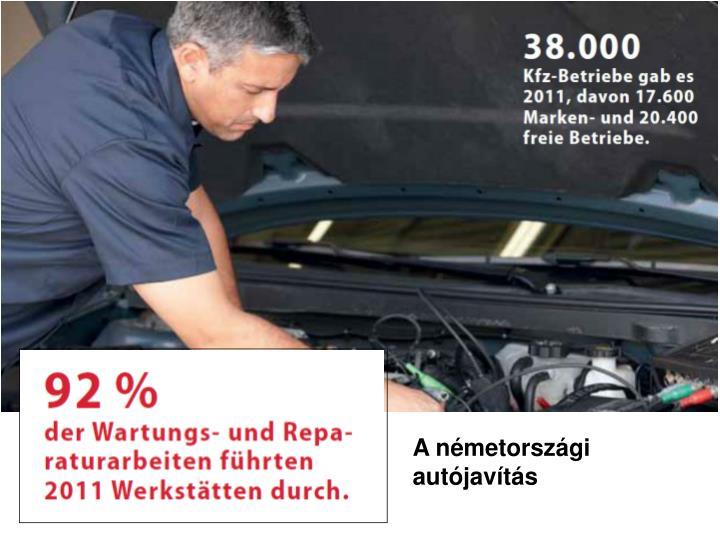 A németországi autójavítás
