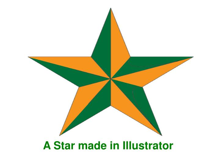 A Star made in Illustrator