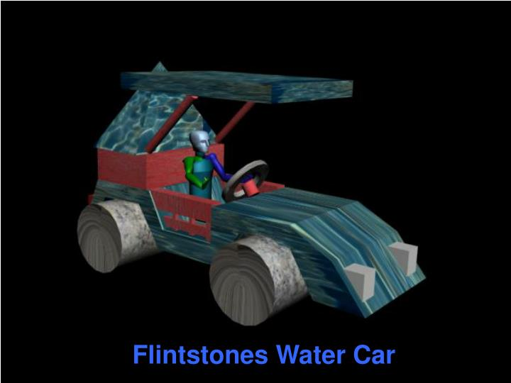 Flintstones Water Car