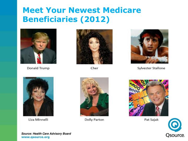 Meet Your Newest Medicare Beneficiaries (2012)