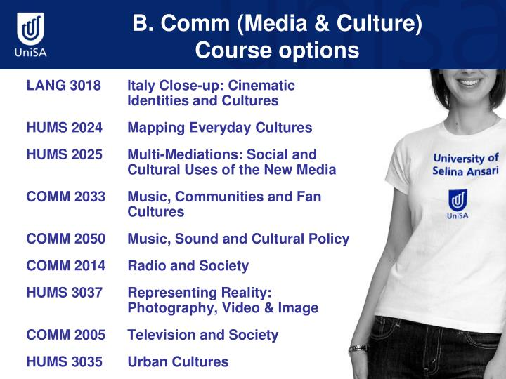 B. Comm (Media & Culture)