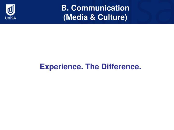 B. Communication