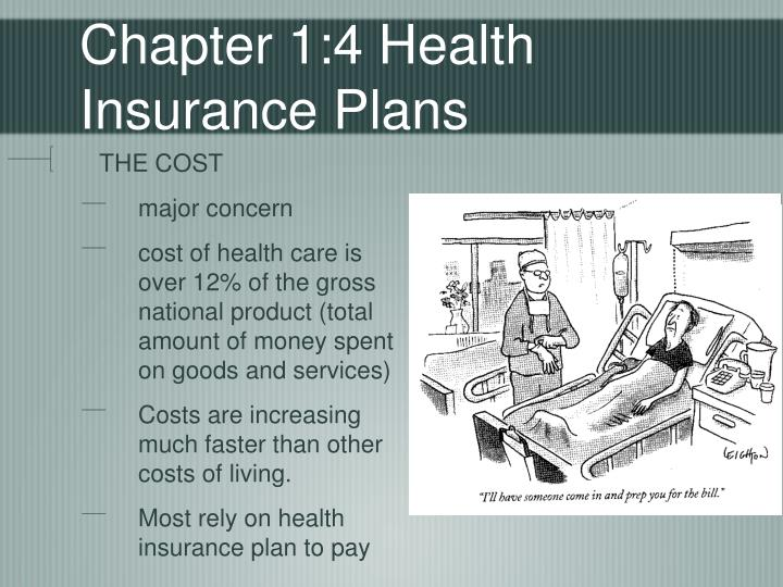 Chapter 1 4 health insurance plans
