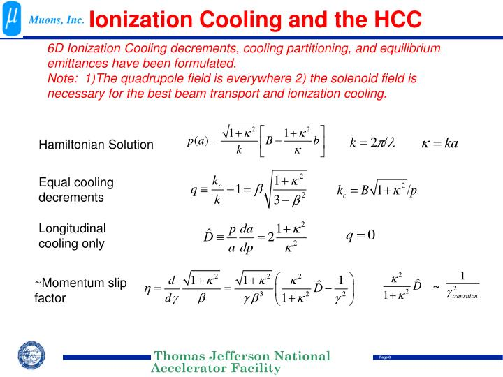 Ionization Cooling and the HCC