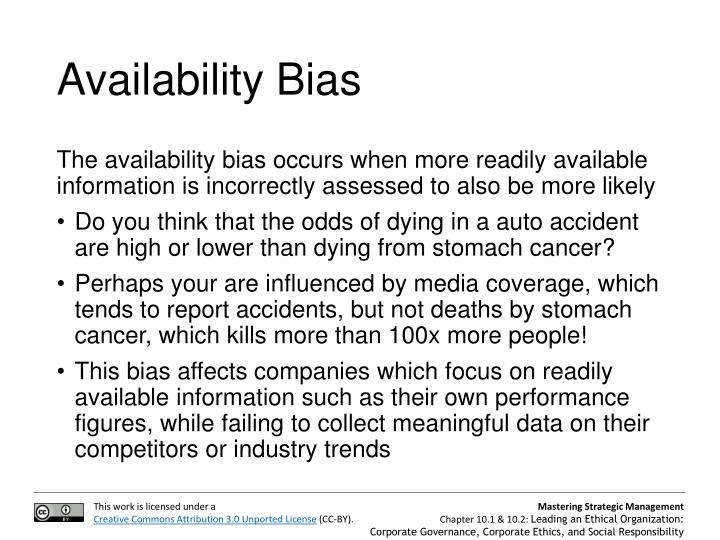 Availability Bias