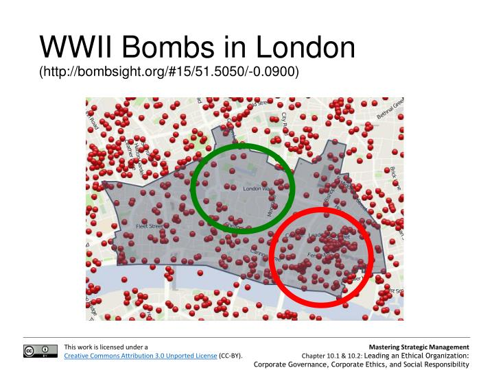WWII Bombs in London