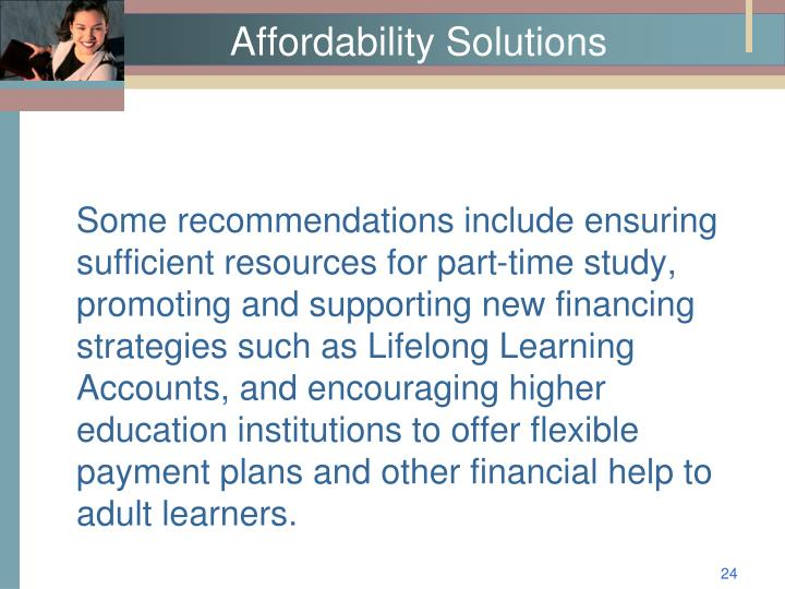 Affordability Solutions