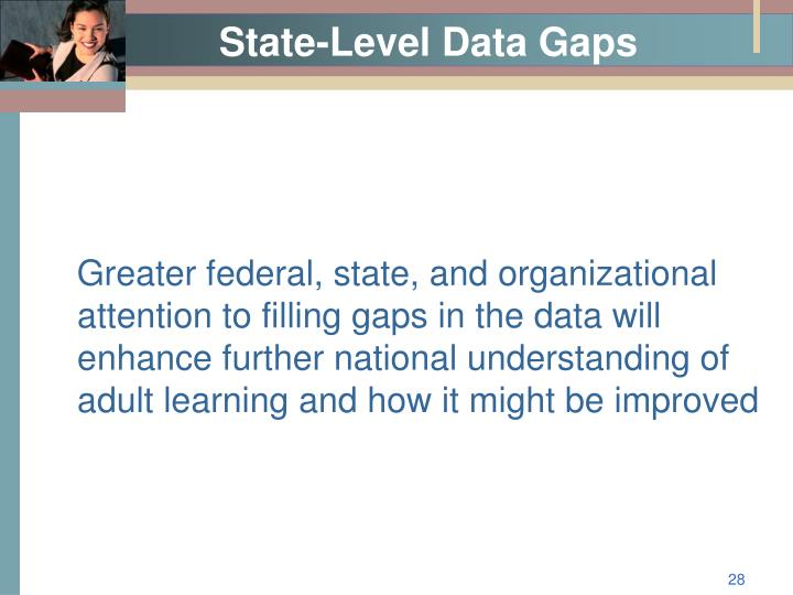 State-Level Data Gaps