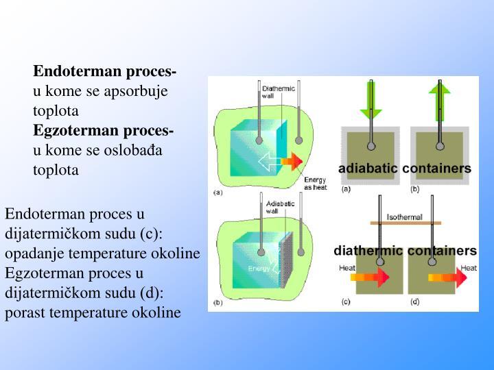 Endoterman proces-