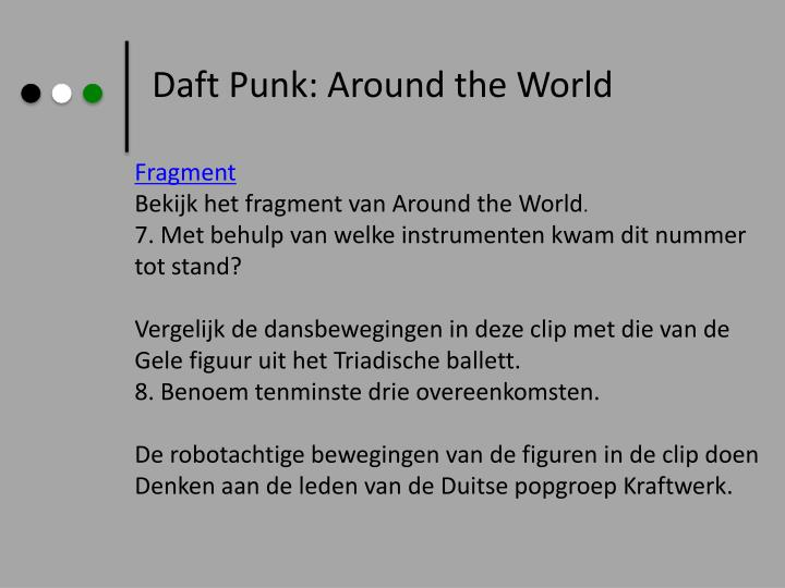 Daft Punk: Around the World