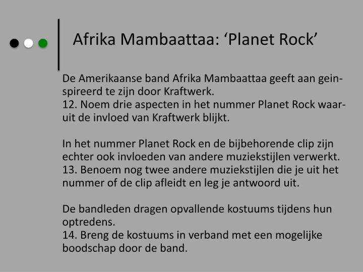 Afrika Mambaattaa: