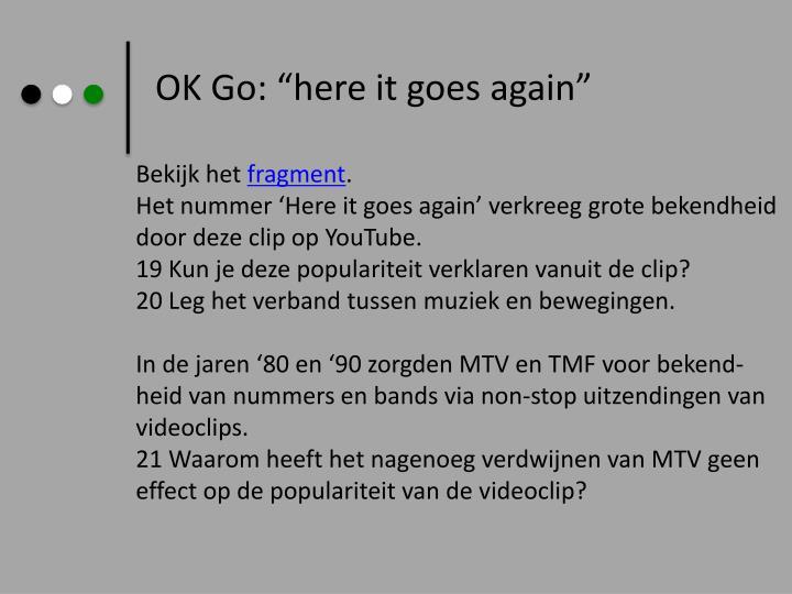 OK Go: