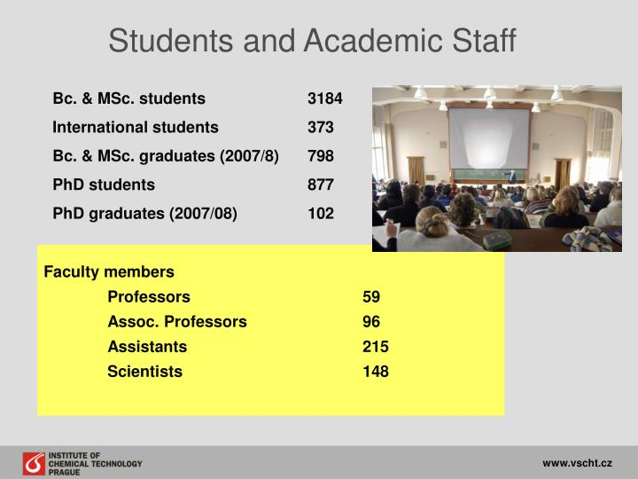 Students and Academic Staff