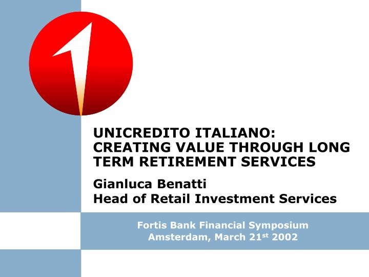UNICREDITO ITALIANO: