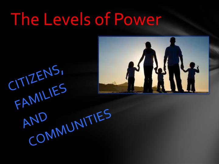 The Levels of Power